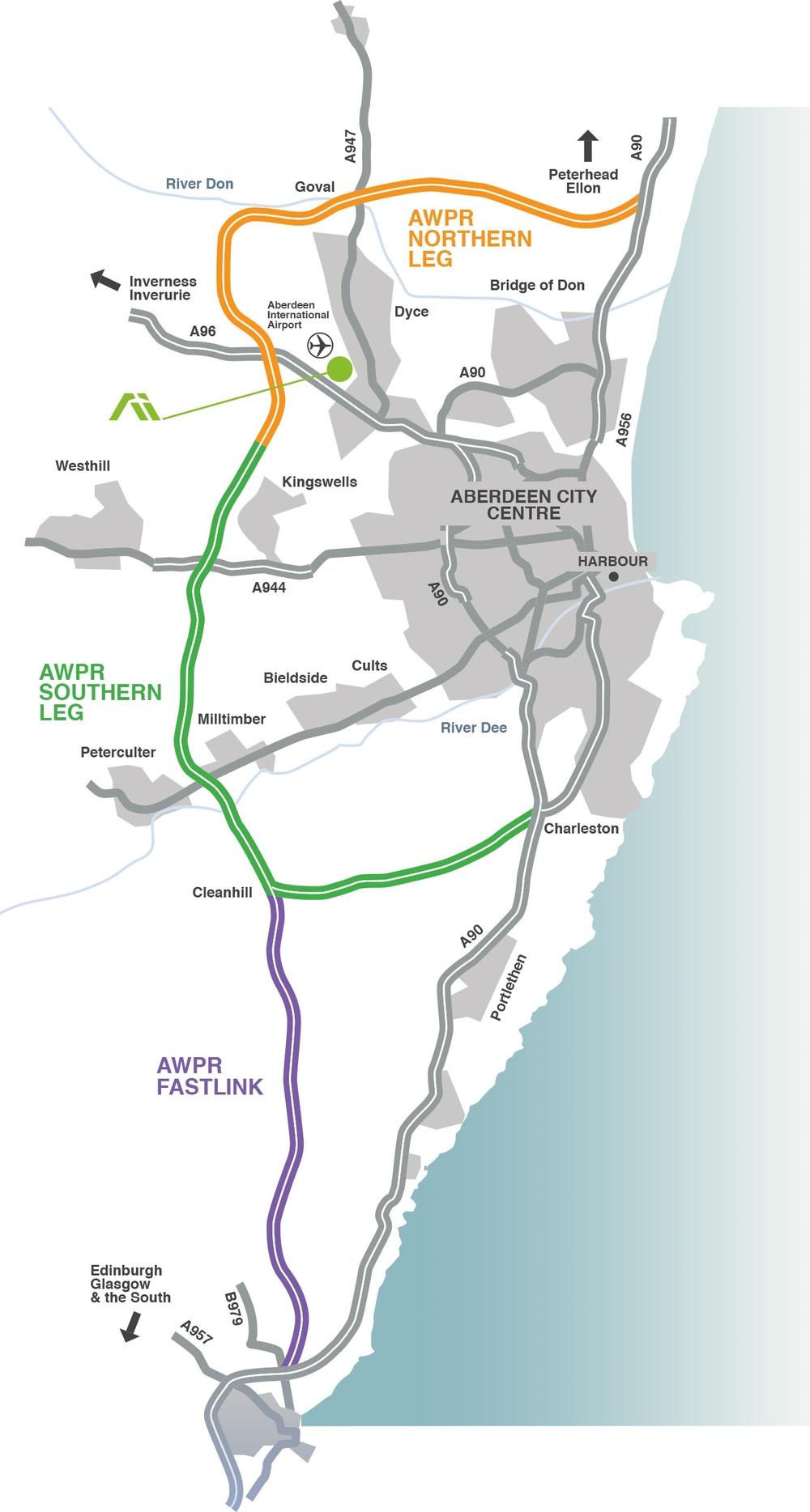 Location Aberdeen International Business Park
