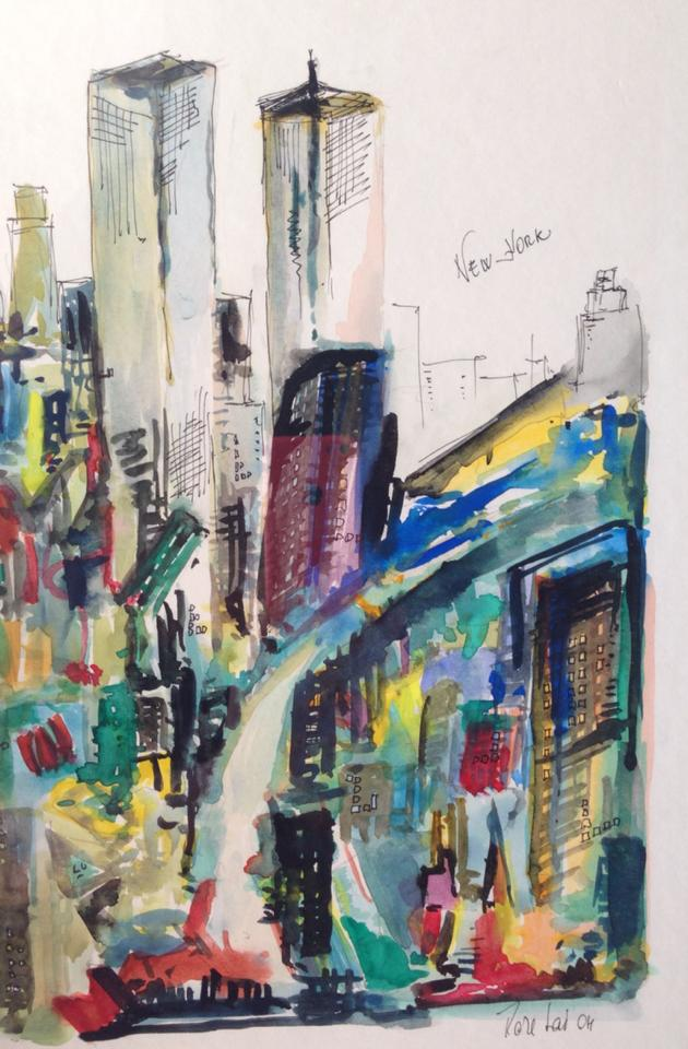 'New York'