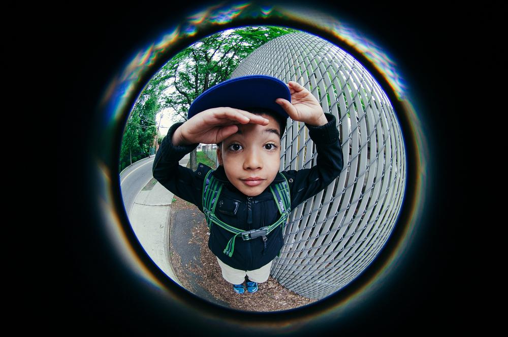 Circular Fisheye