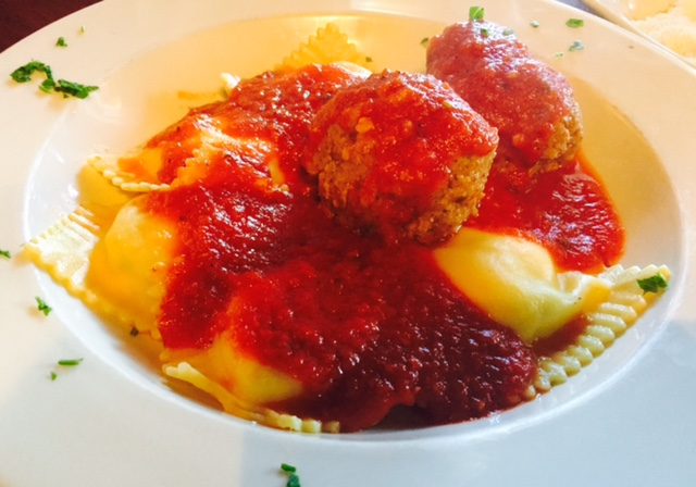 Copy of Ravioli & Meatballs