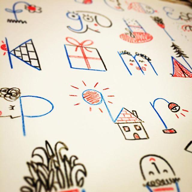 📓🖍 #illustration #alphabet