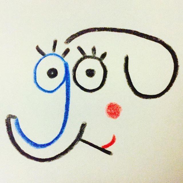 🐘 #illustration #letters #g