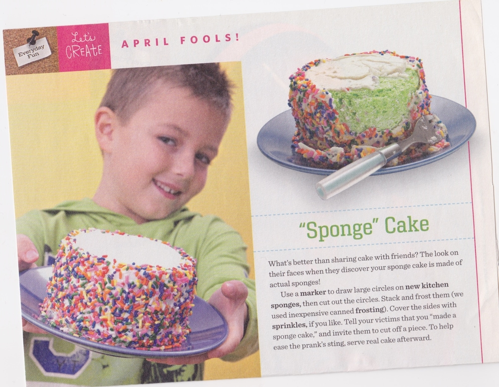 From Family Fun magazine April 2011