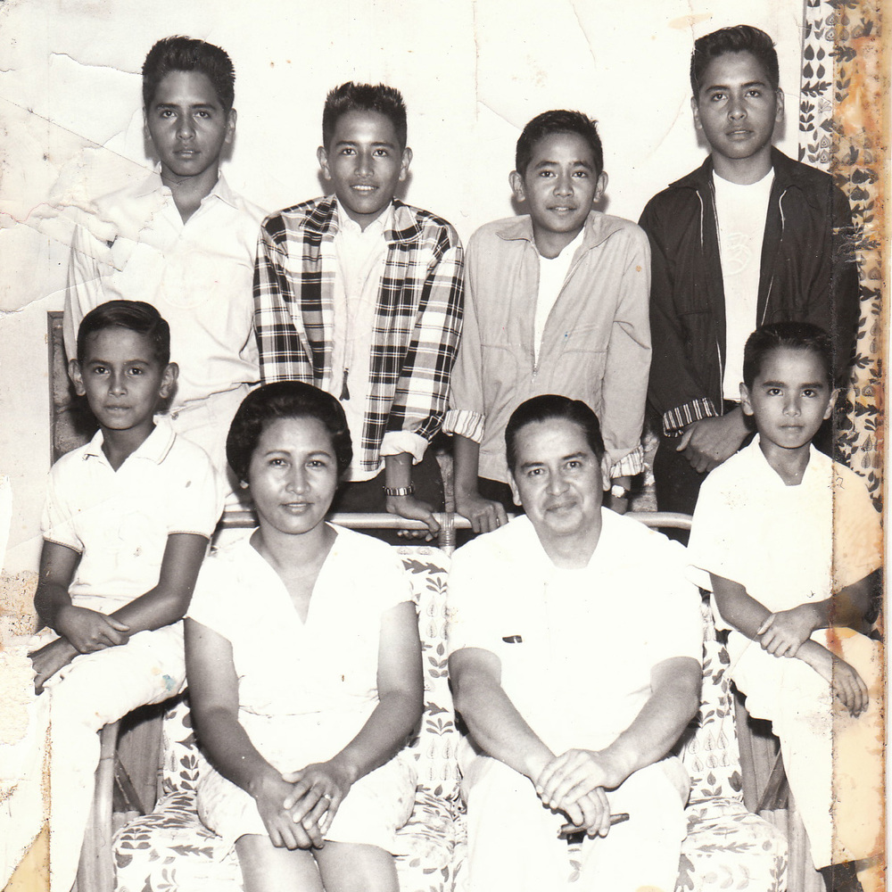 Grandma and Grandpa had six boys: Pablo, John and Dad were twins, Ramon, Rufino and Manuel. Top four boys all passed away before the age of 60. Feeling so lucky and happy to have Tito Pino and Tito Manoling still celebrating Father's Days here with us!! Miss you Grandma, Grandpa, Tito Pablo, Tito Johnny, Dad and Tito Ramon!!