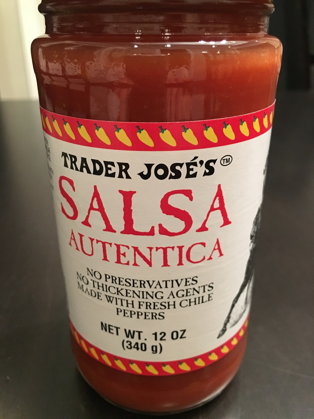 Prior to my son liking chips and salsa, my pantry was stocked with this stuff at all times because of my hub. Nowadays, I buy 5 bottles a week to keep up the addiction going.  Thoughtfulness  at it's best.