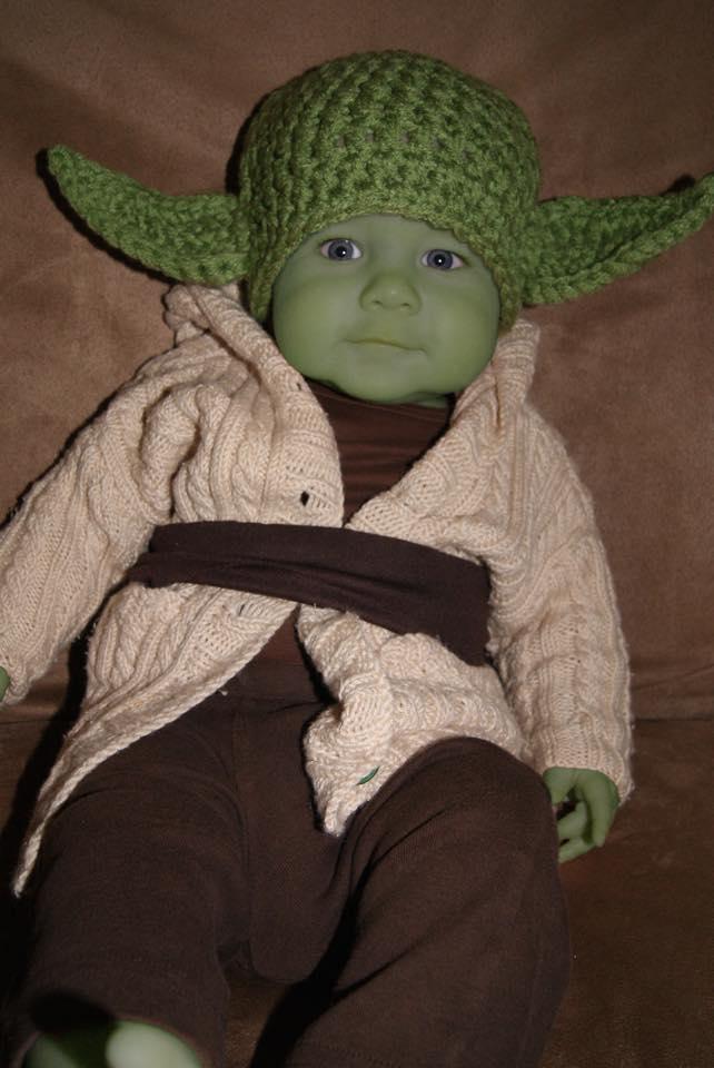 Isn't Eli Moen the cutest Yoda you've ever seen?