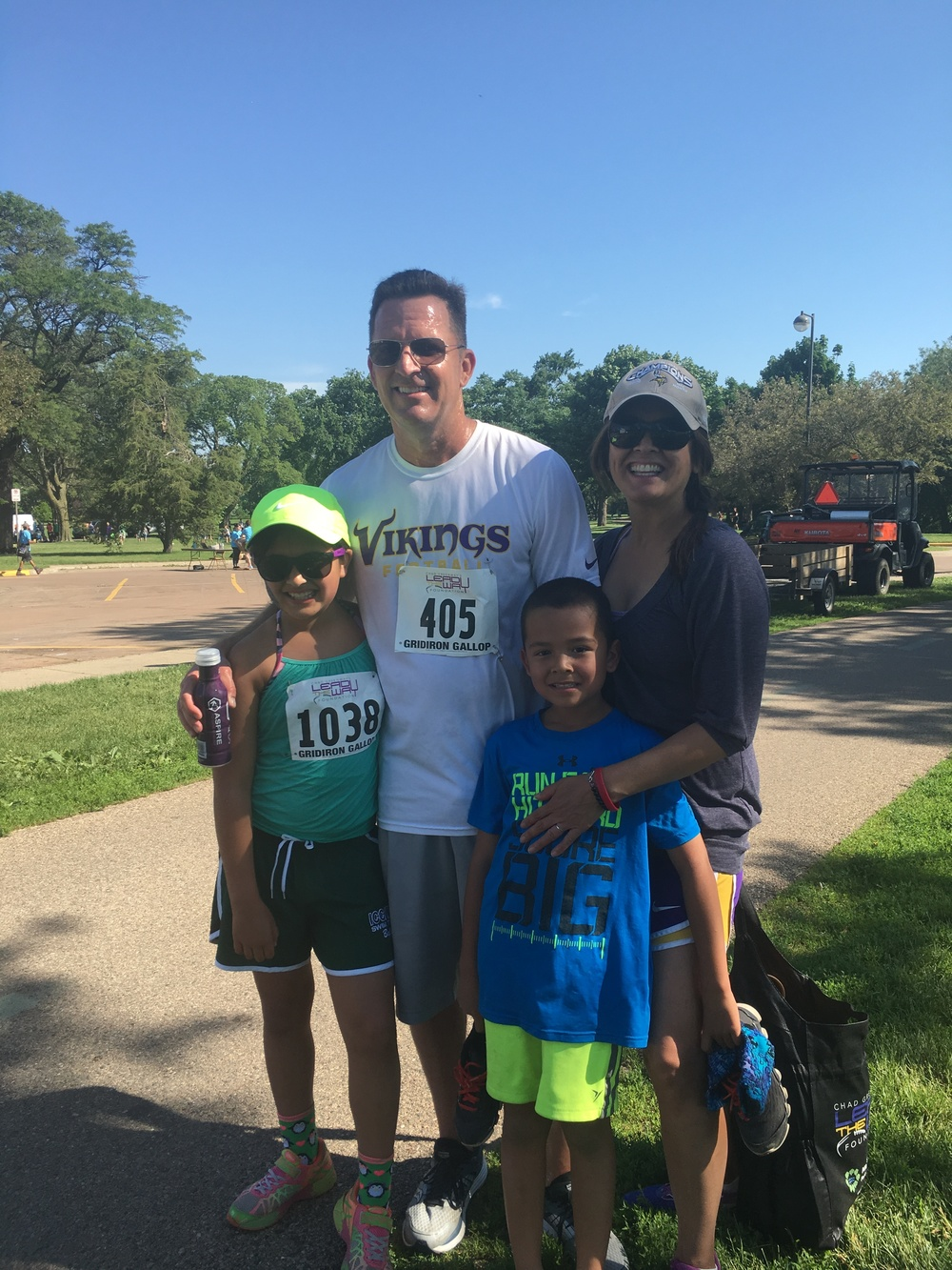 Chad Greenway's 5K Run for his Lead The Way Foundation June 19, 2016.