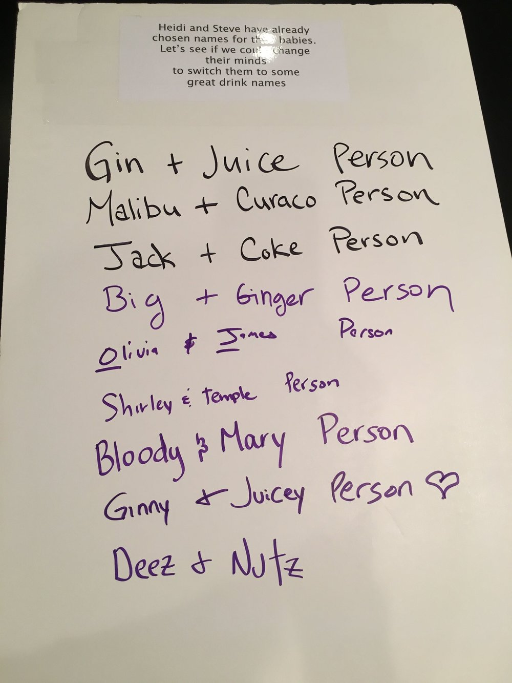 I think my Gin & Juice inspired my hub's suggestion. Can you tell which one is his?