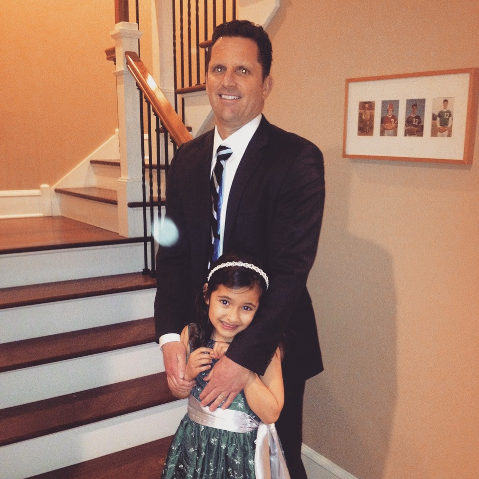 """Instagram Message: """"Being a great father is like shaving. No matter how good you shaved today, you have to do it again tomorrow."""" - Reed Markham. If you have a bunch of favorite quotes and don't know what to do with them, check the blog. Circa 2012 Father/Daughter Dance."""