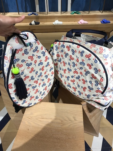 My obsession with the Tory Sport store in Mall of America is fueled because I'm enjoying the game of tennis these days. Somehow these bags inspire me even more. Option #1 - a backpack or the gym bag. I'd be delightfully surprised by either!