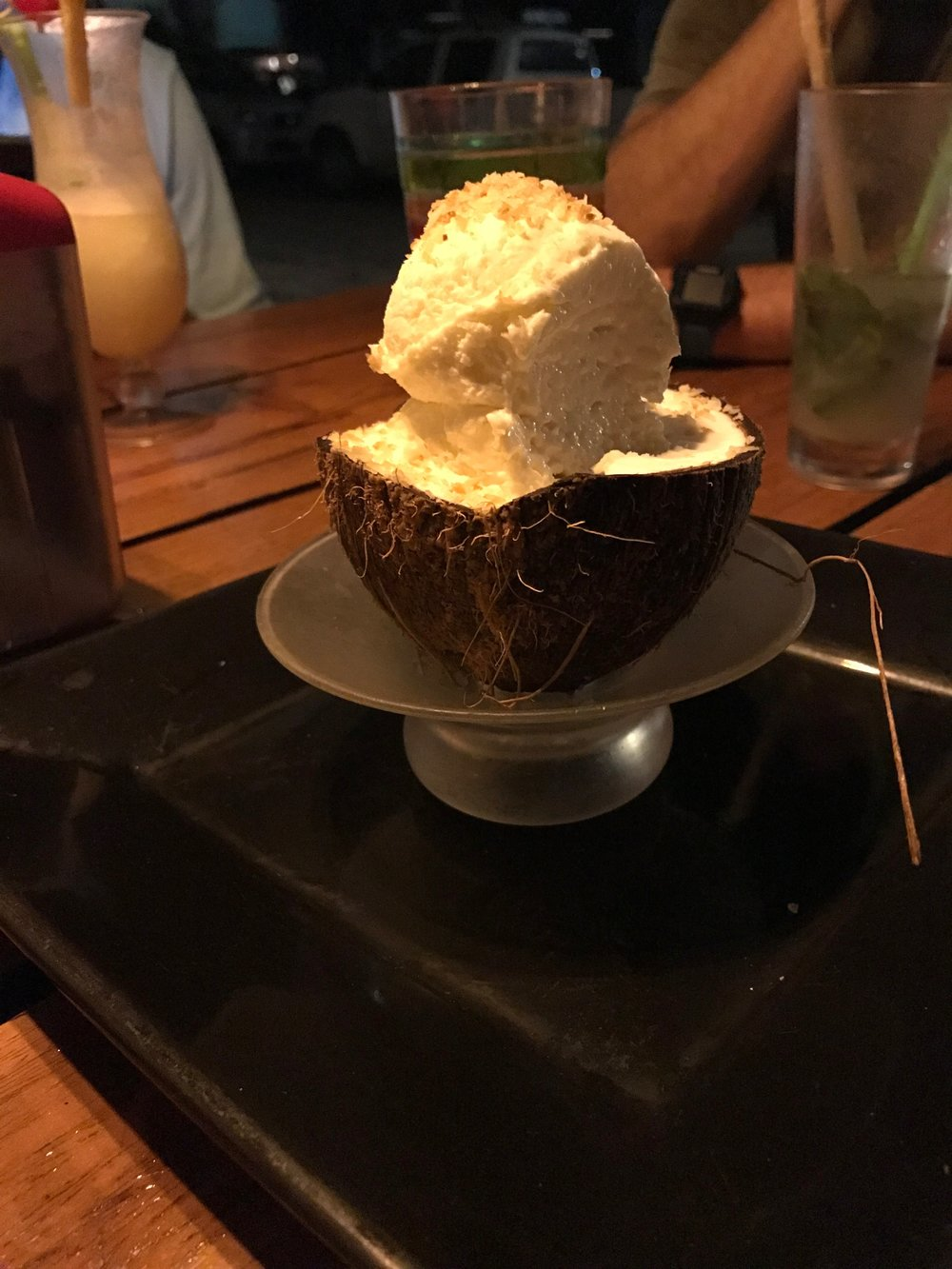 Coco Loco's Coconut Ice Cream. Yum!