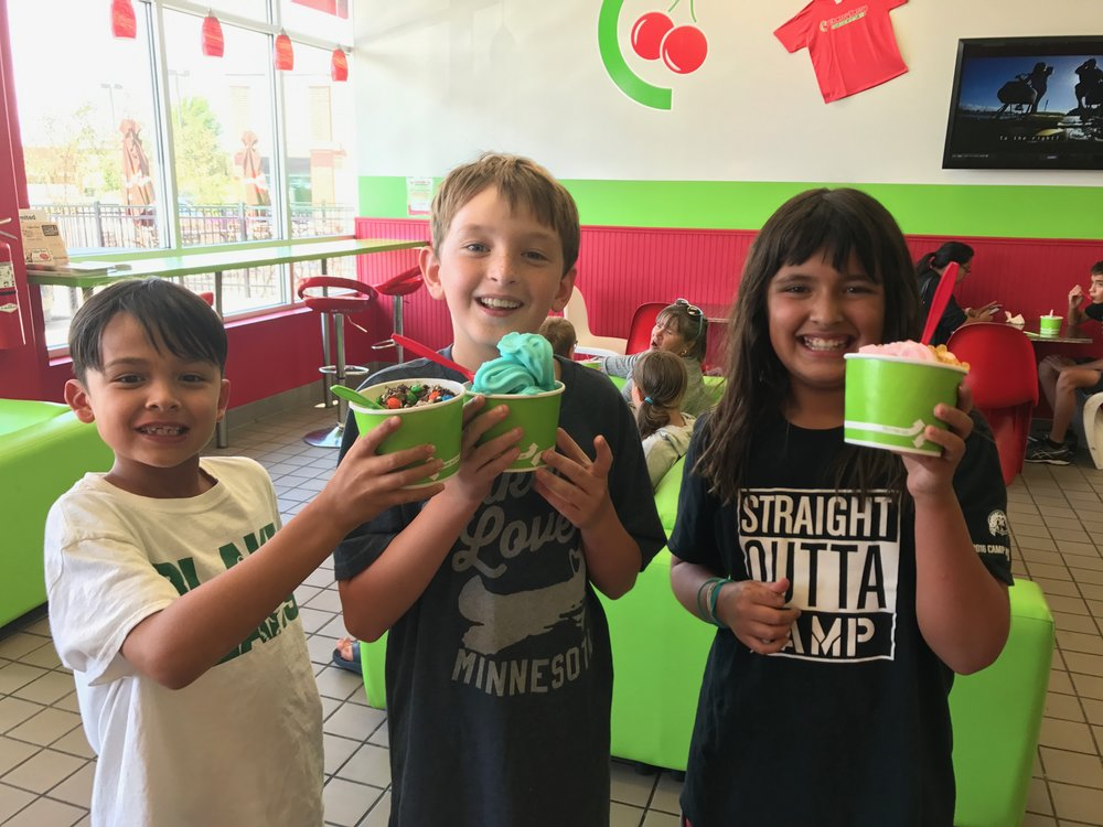 Tommy - his mom has both of my kids over all the time. The least I could do is buy him a $9 frozen yogurt. Looking forward to many more fun treats with this guy!