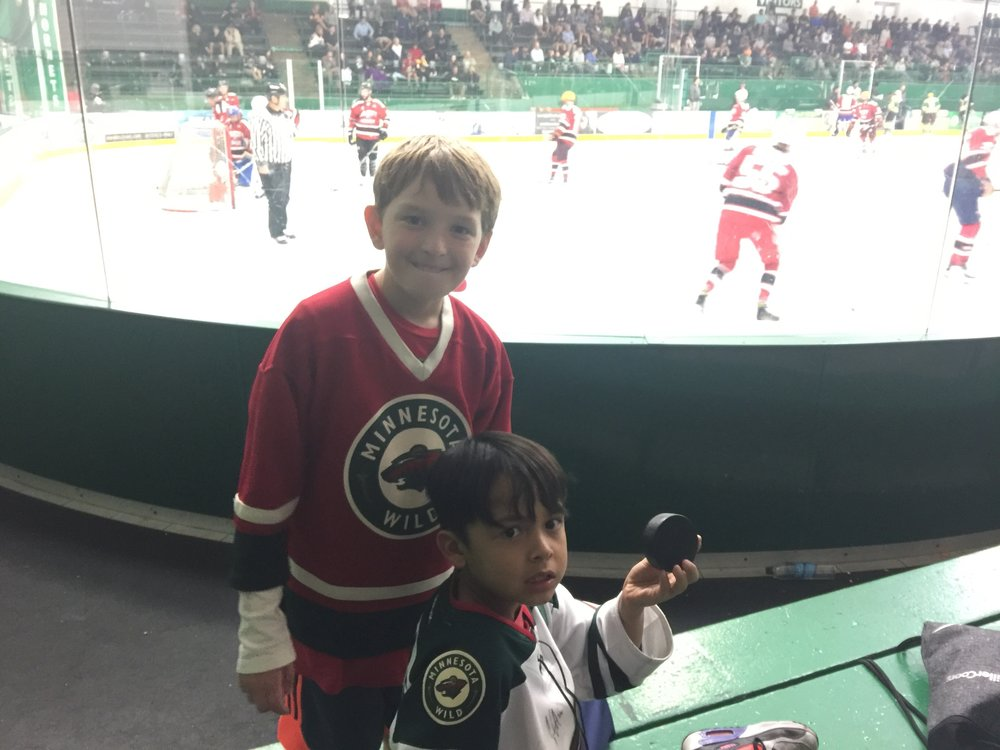 Tommy again. Yes, again. His mom took Beau to Da Beauty League hockey games 4 times this summer. We owe this guy a big Dave & Buster playdate and his mom needs a wine tasting event.