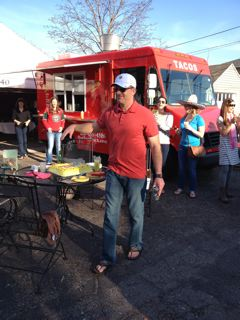 If you're hosting a big crowd and you don't want to cook - get the taco truck or hire the Taco Lady. So good.