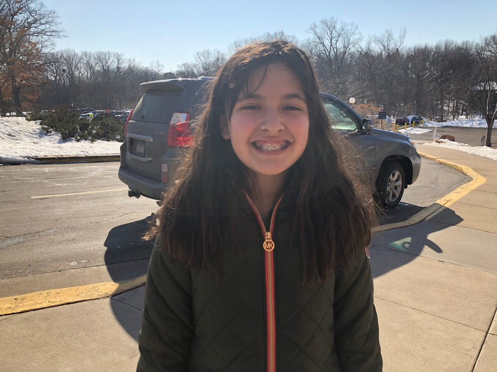 Instagram Message: This newly braced face is happy she is still able to eat potato chips bc National Potato Chip Day is on 3/14. Check the blog.