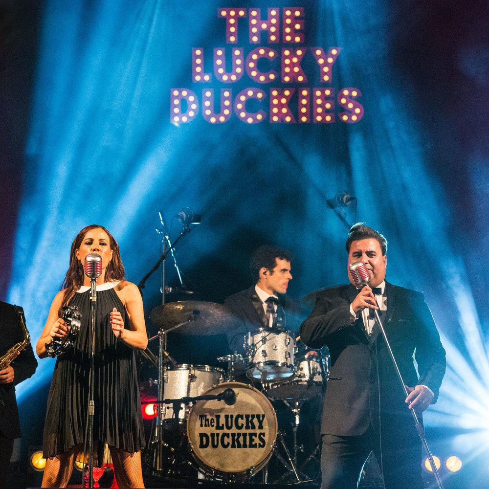 The Lucky Duckies (Feira da Fruta, Caldas da Rainha, 2016/08/22)