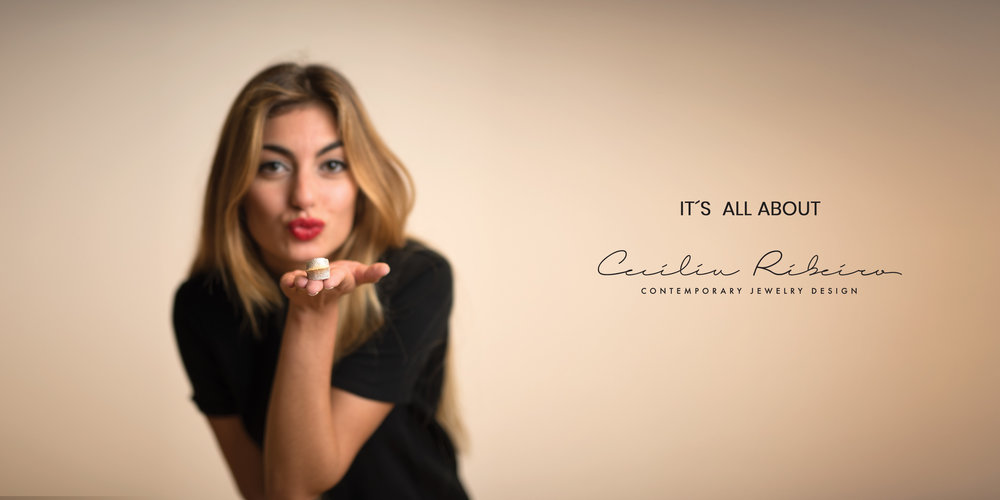 "Campanha ""It's All About..."" Cecília Ribeiro"
