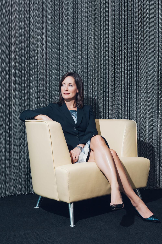 Amanda Lang for Report On Business Magazine.