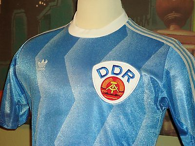 17e18a46537 Football jersey of the DDR (East Germany) with hammer and compass emblem (  eBay