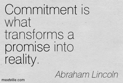 How to make commitment work  — DANIELLE RONDEAU