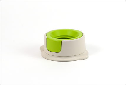 Green adapter with base