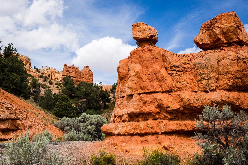 Hoodoos at Red Canyon along Utah Highway 12