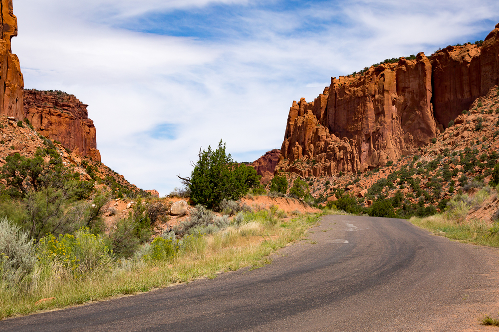 Traveling The Burr Trail