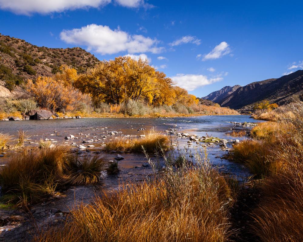 Autumn along the Rio Grande in northern New Mexico.