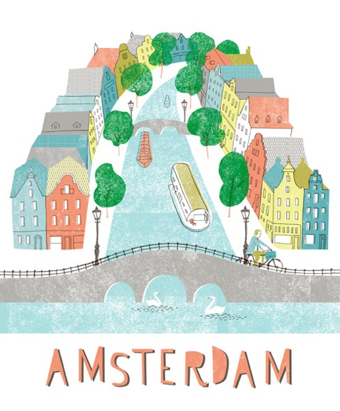 Amsterdam - by Angela Keoghan