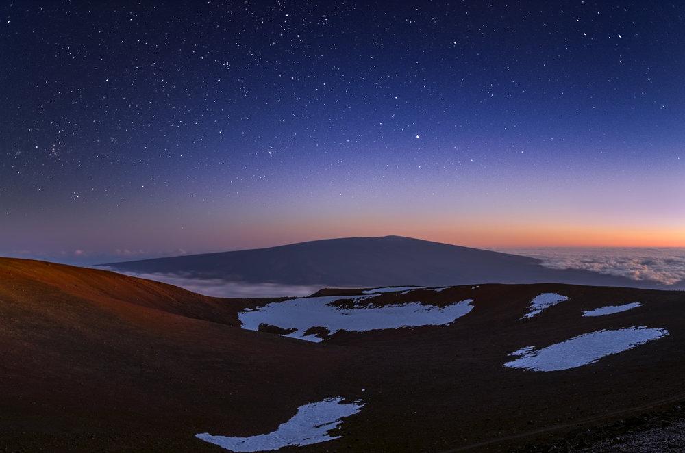 Mauna Loa Under The Stars.