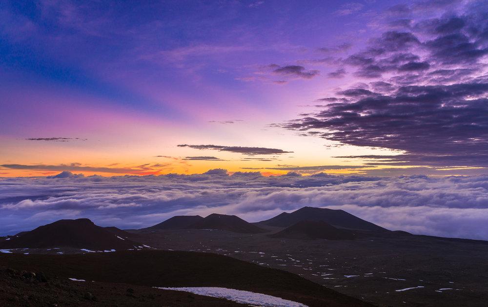 Mauna Kea Sunrise