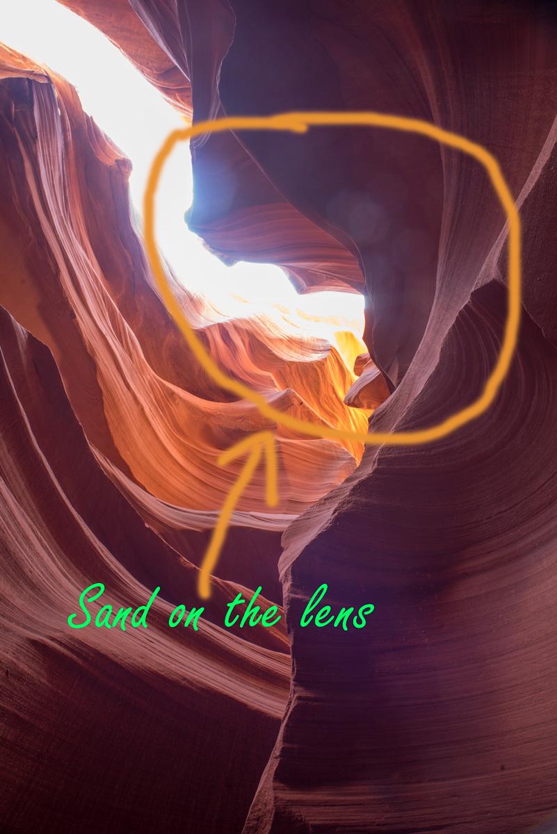 Sand-Lens