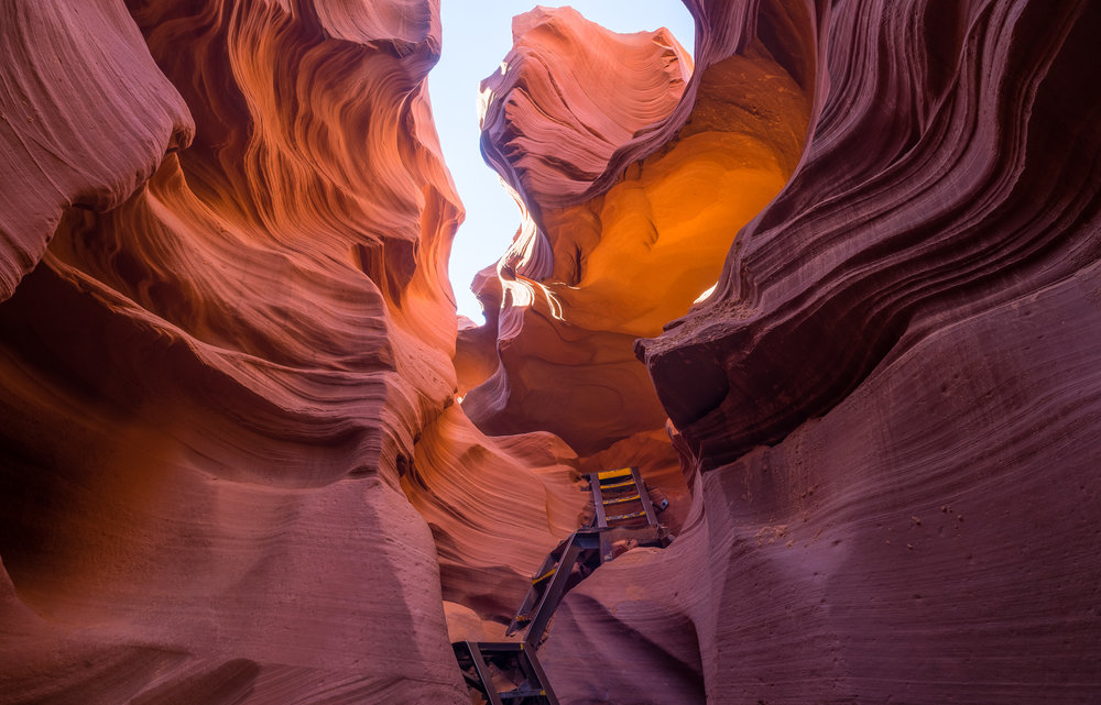 Antelope-Canyon-Entrance