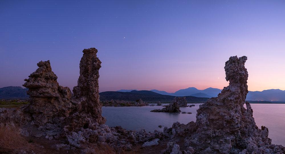 Mono Lake - South Tufa at blue hour.