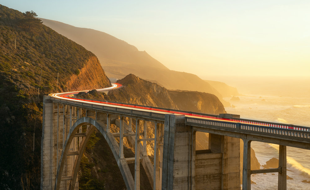 Bixby Canyon Bridge, Big Sur.