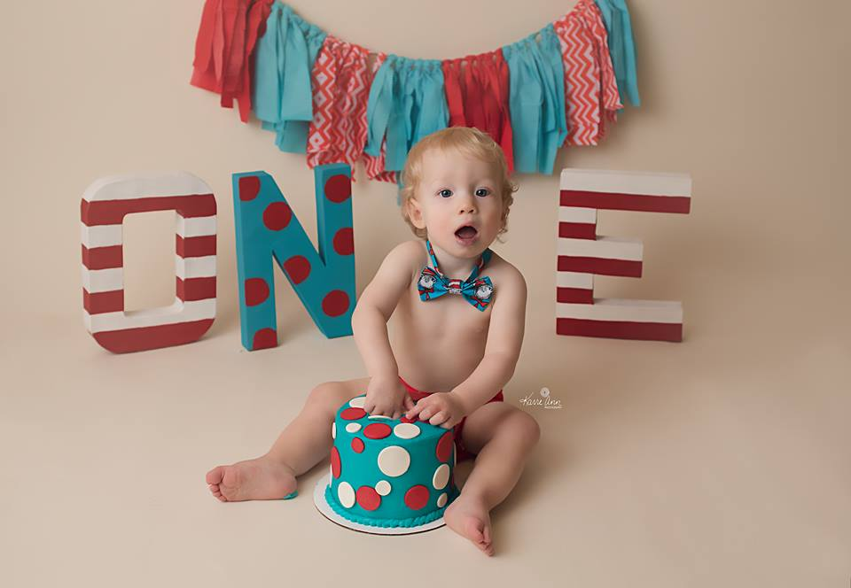 Photo was from William's 12 month photo shoot we did with Karre Ann Photography in Noblesville, IN.