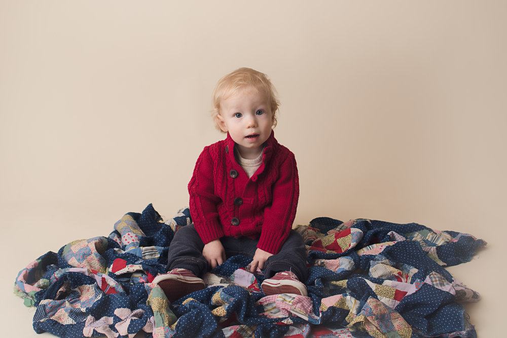 Photo credit: Karre Ann Photography from William's 12 month photo session.