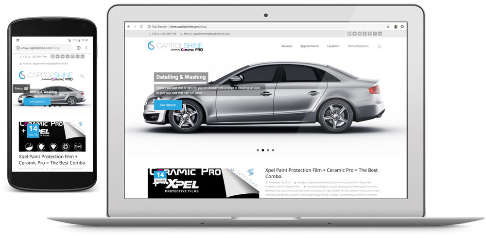 Wordpress - Capitol Shine Blog