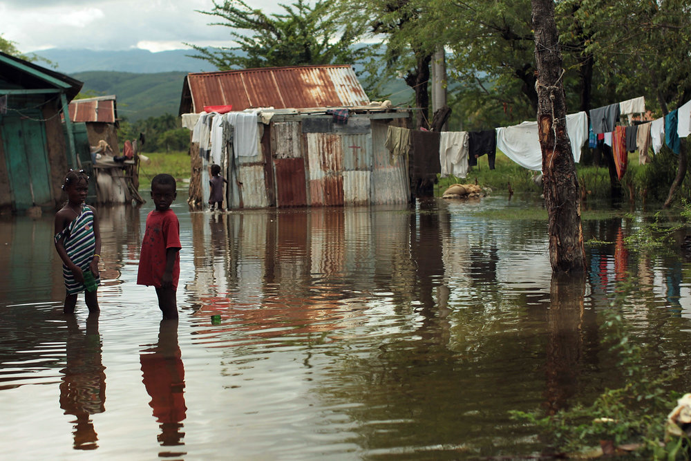 HURRICANE MATTHEW FLOODING IN RURAL HAITI