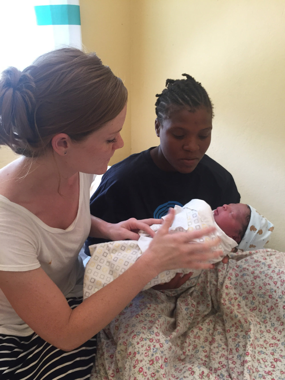 1st Haitian Baby