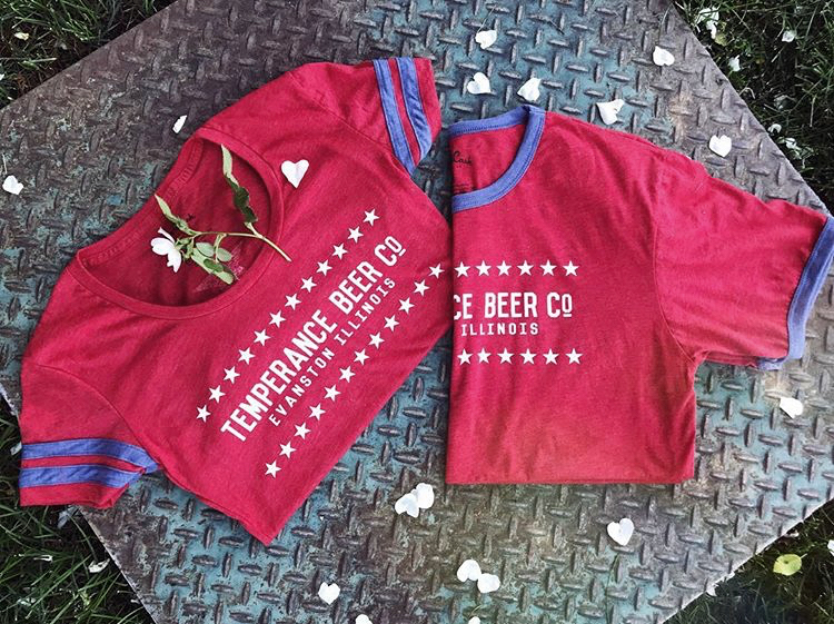bb9062f5b30d Red, White & Blue Stars T-Shirts — Temperance Beer Co.