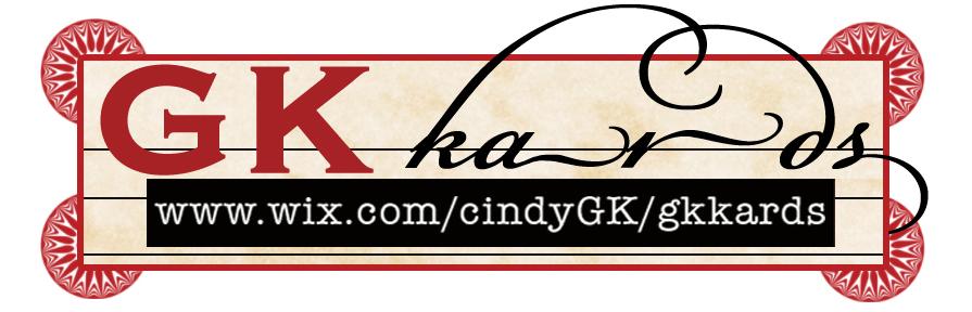 GKkards logo designed by me.