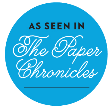 The paper Chronicles blog, January 10, 2017 entry