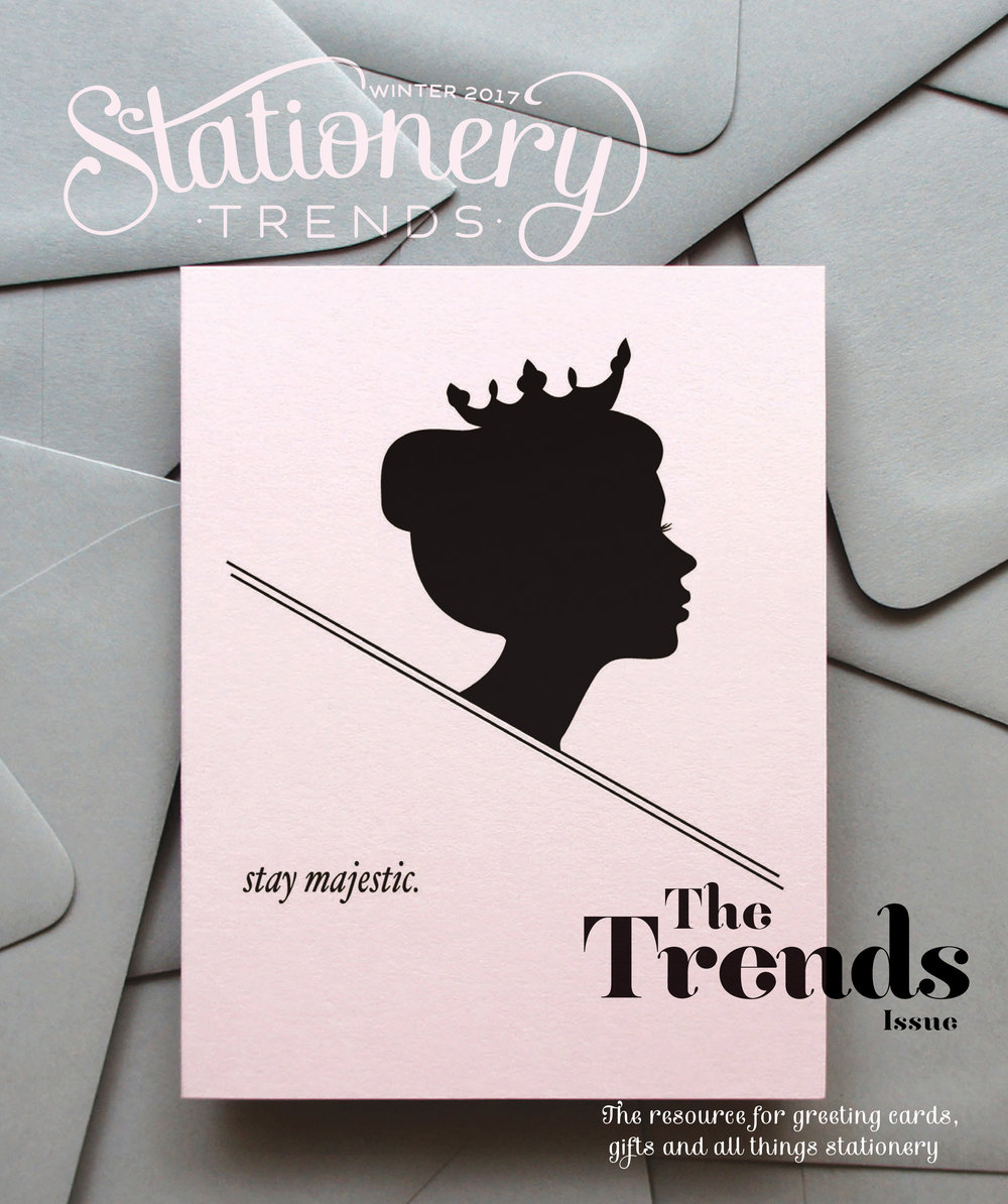 Stationery Trends' Magazine, Winter 2017 Issue (cover feature)