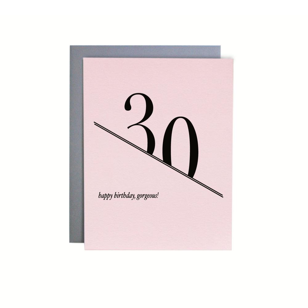 BIRTHDAY PINK 30 ITEM NO. NC3116