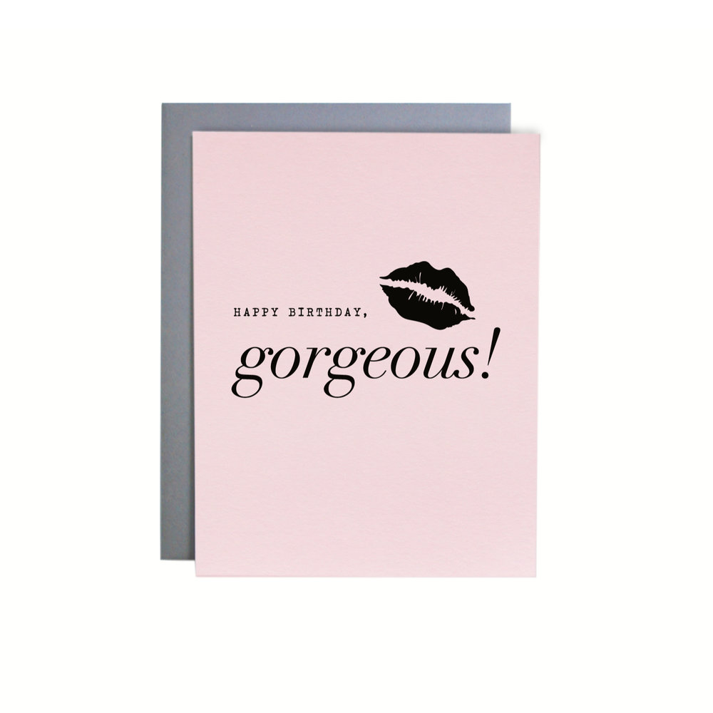 GORGEOUS LIPS BIRTHDAY ITEM NO. NC9225