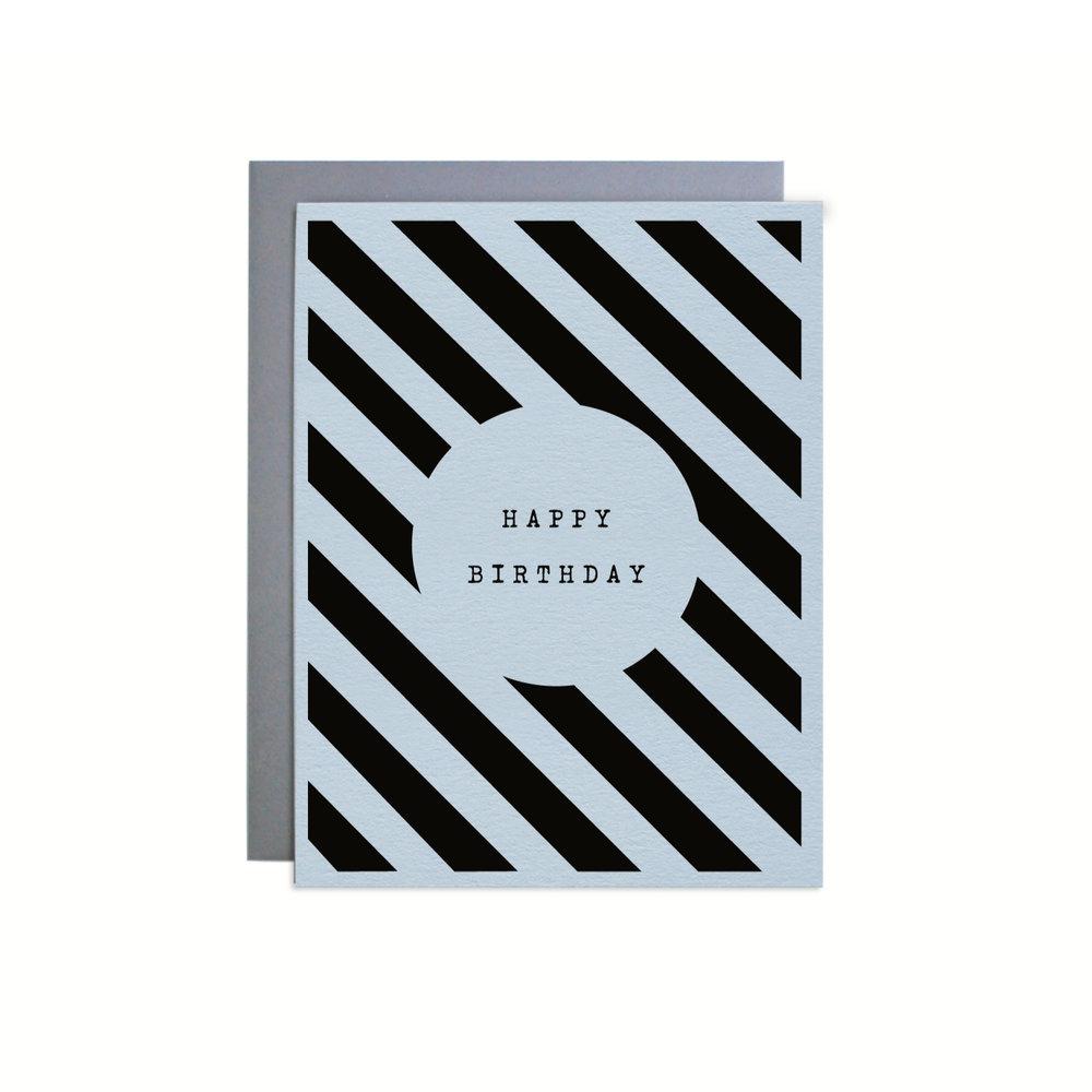 BIRTHDAY BLUE STRIPES ITEM NO. NC0937