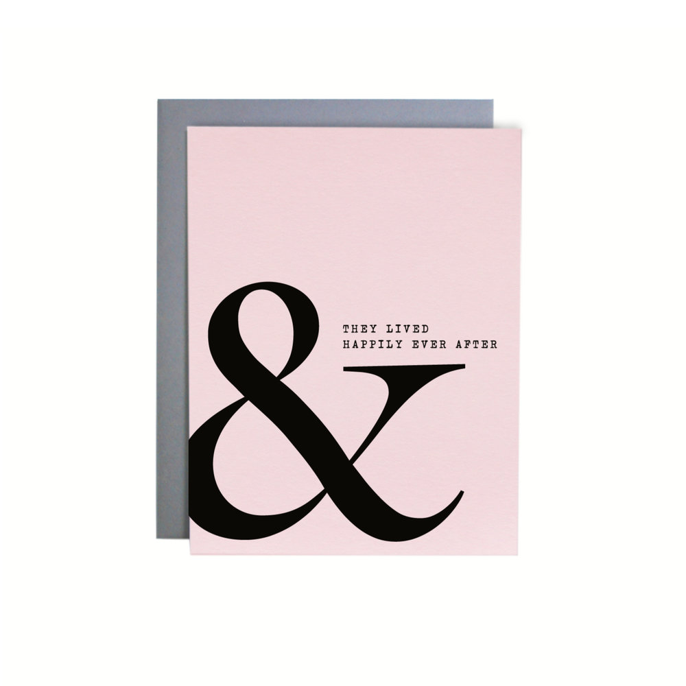AMPERSAND EVER AFTER  ITEM NO. NC0253