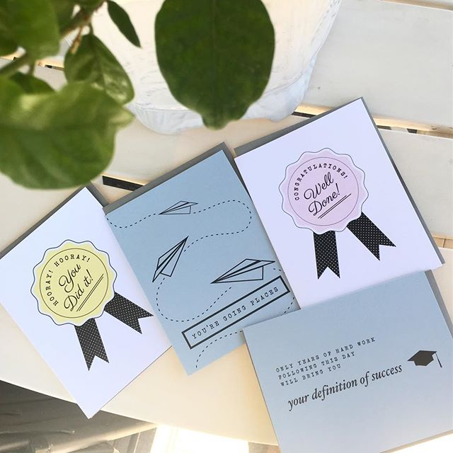Proud cousin of a #finearts #architecture #graduate #unlvgrad now which of these #graduation #notecards should I choose to give? Ok, I'll settle for all four 😬 ••• available retail and Wholesale at letterparade.com•••
