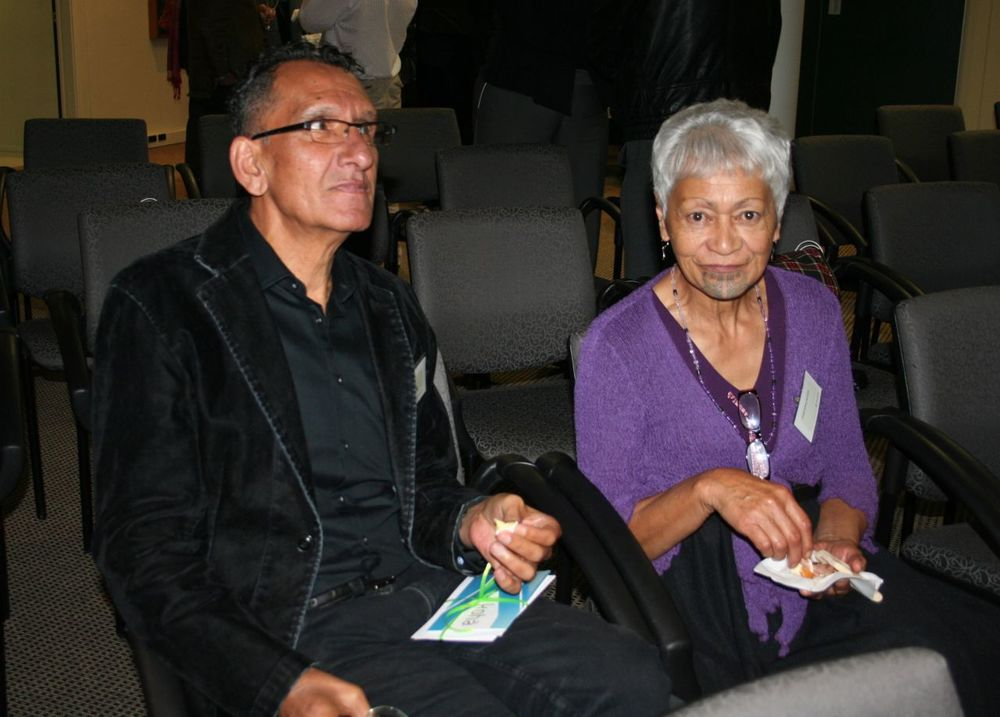 Lee Smith and Tungia Kaihau-Symonds